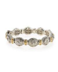 Konstantino | Metallic Thalassa Silver & 18k Gold Link Bracelet | Lyst