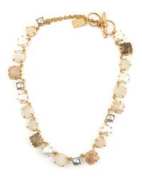 Kelly Wearstler Natural 'Zinnia Bolo' Necklace