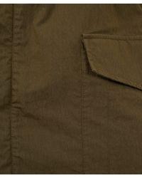 McQ Natural Khaki Cotton-Blend Military Parka for men