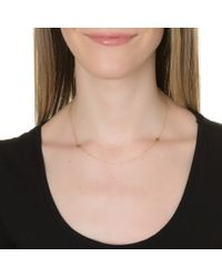 Lulu Frost | Metallic Code 18kt Double Palm Necklace | Lyst