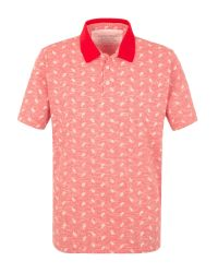 Racing Green - Pink Salt Paisley Polo for Men - Lyst