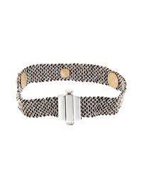 Carolina Bucci - Black Diamond Silk And White-Gold Bracelet - Lyst