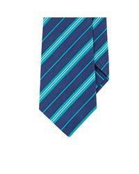 Kiton | Blue Satin-striped Woven Necktie for Men | Lyst