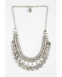 Urban Outfitters - Metallic Sogno Bello Coin Necklace - Lyst