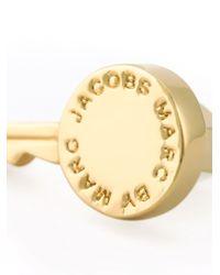 Marc By Marc Jacobs   Metallic Key Stud Earrings   Lyst
