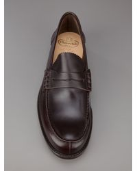 Church's Brown Classic Loafer for men