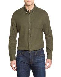 AG Jeans Green 'nimbus' Trim Fit Sport Shirt for men