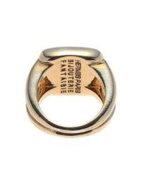 Hermès - Metallic HermãˆS Ring - Lyst