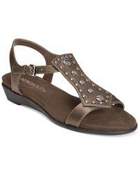 Aerosoles - Brown Athens Gladiator Sandals - Lyst