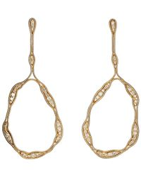 Fernando Jorge | Metallic Fluid Diamonds Trapeze Earrings | Lyst