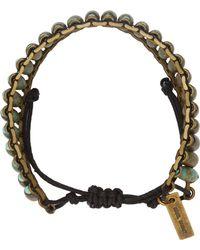 Isabel Marant | Green Pottery Beaded Bracelet | Lyst