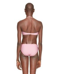 kate spade new york | Pink Marina Piccola Scalloped Underwire Bra | Lyst