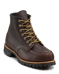 """Red Wing Brown """"Classic Lifestyle"""" Moc Lug Boot for men"""