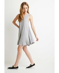 Forever 21 | Gray Jersey Trapeze Dress You've Been Added To The Waitlist | Lyst