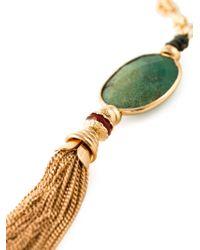 Gas Bijoux - Metallic 'Pompon' Necklace - Lyst