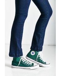 Converse - Green Chuck Taylor All Star Seasonal High Top Sneaker - Lyst