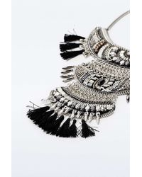 Urban Outfitters | Black Taza Statement Necklace | Lyst
