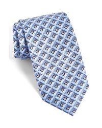 JZ Richards | Blue J.z Richards Geometric Silk Tie for Men | Lyst