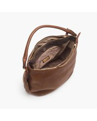 J.Crew - Brown Peyton Hobo - Lyst