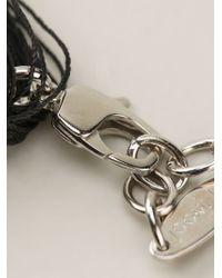 Joomi Lim - Black Braided Bib Necklace - Lyst