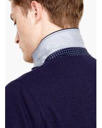 Mango | Blue Textured Unstructured Blazer for Men | Lyst