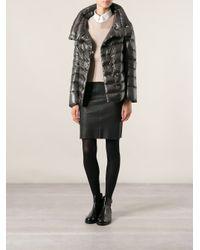 Herno Gray Padded Jacket