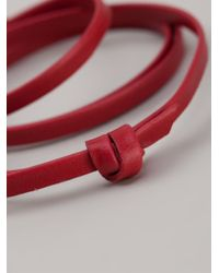 Miansai | Red Anchor Bracelet | Lyst
