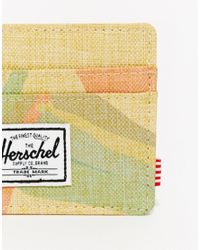 Herschel Supply Co. - Natural Charlie Card Holder Exclusive To Asos for Men - Lyst
