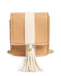 Big Buddha | Brown 'valery' Faux Leather Crossbody | Lyst