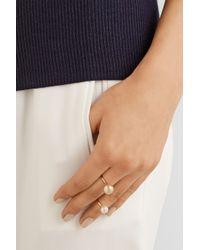 Sophie Bille Brahe Metallic Lisa Deux 14-Karat Gold Ring