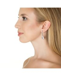 Kenneth Jay Lane | Metallic Trapezoid Vertical Drop Earrings | Lyst