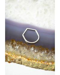 Still House   Metallic Sterling Silver Namas Ring   Lyst