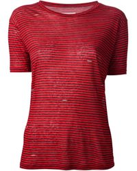Étoile Isabel Marant Red 'Jina' T-Shirt