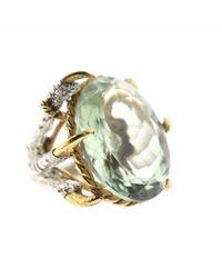 Tessa Metcalfe | Multicolor Green Quartz Deborah Ring | Lyst