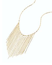 Lana Jewelry | Metallic 14k Long Fringe Necklace | Lyst