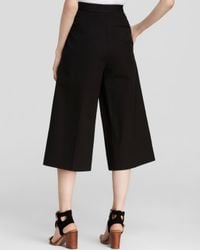 Vince Camuto Black Wide Leg Culottes - Bloomingdale's Exclusive