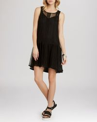 BCBGeneration | Black Dress - Drop Waist | Lyst