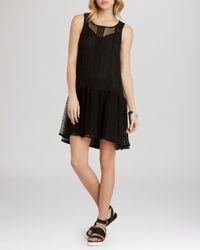 BCBGeneration - Black Dress - Drop Waist - Lyst