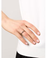 Rosa Maria | Metallic Britt Ring | Lyst
