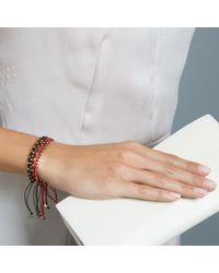 Biography - Red Serendipitous Bracelet Stack - Lyst