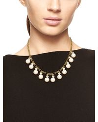 kate spade new york Metallic Pearly Delight Necklace