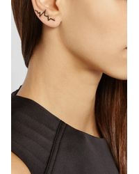 Diane Kordas - Pink Heartbeat 18-Karat Rose Gold Diamond Ear Cuff - Lyst