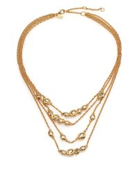 Alexis Bittar | Metallic Elements Moonlight Crystal Multi-strand Station Necklace | Lyst