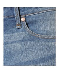 Marc By Marc Jacobs Blue Ella Skinny Crop Jean