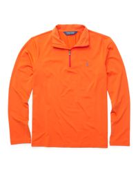 Ralph Lauren | Orange The Open Half-zip Pullover for Men | Lyst