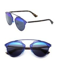 Dior | Blue So Real 48mm Pantos Sunglasses | Lyst
