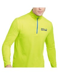 Ralph Lauren - Yellow Stretch Jersey Pullover for Men - Lyst