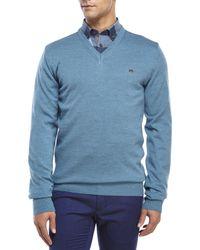 Moods Of Norway - Blue Mathias Loen Wool Sweater for Men - Lyst