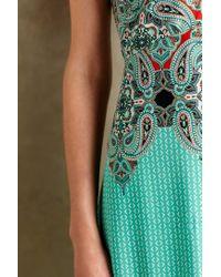 Maeve Blue Canyon Creek Maxi Dress