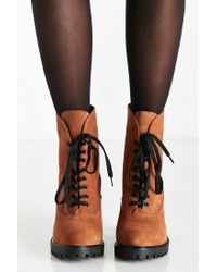 Kelsi Dagger Brooklyn - Brown Berlin Lace-up Heeled Boot - Lyst